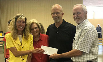 Farmers Grain Helps Fund Medford Library Computer Center